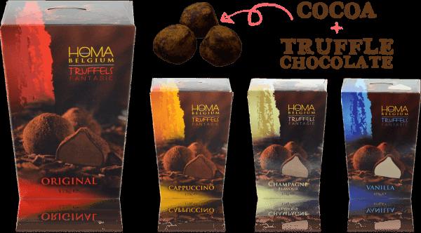 ホーマ トリュフチョコレートの画像