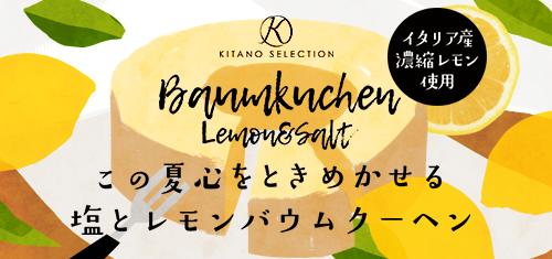 キタノセレクション 塩レモンバウムクーヘン